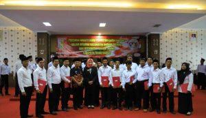 Pelantikan Anggota Badan Permusyawaratan Kampung (BPK) Tulang Bawang